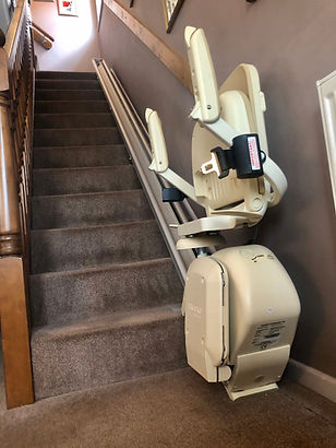 Brooks 130 reconditioned straight stairlift