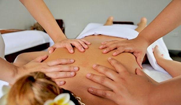 Massaggio a 4 mani antistress