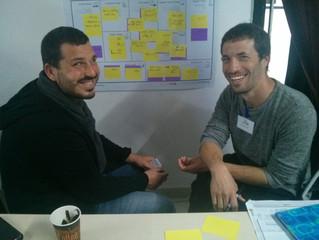 והתחלנו... סדנה ראשונה על שיטת ה Business Model Canvas