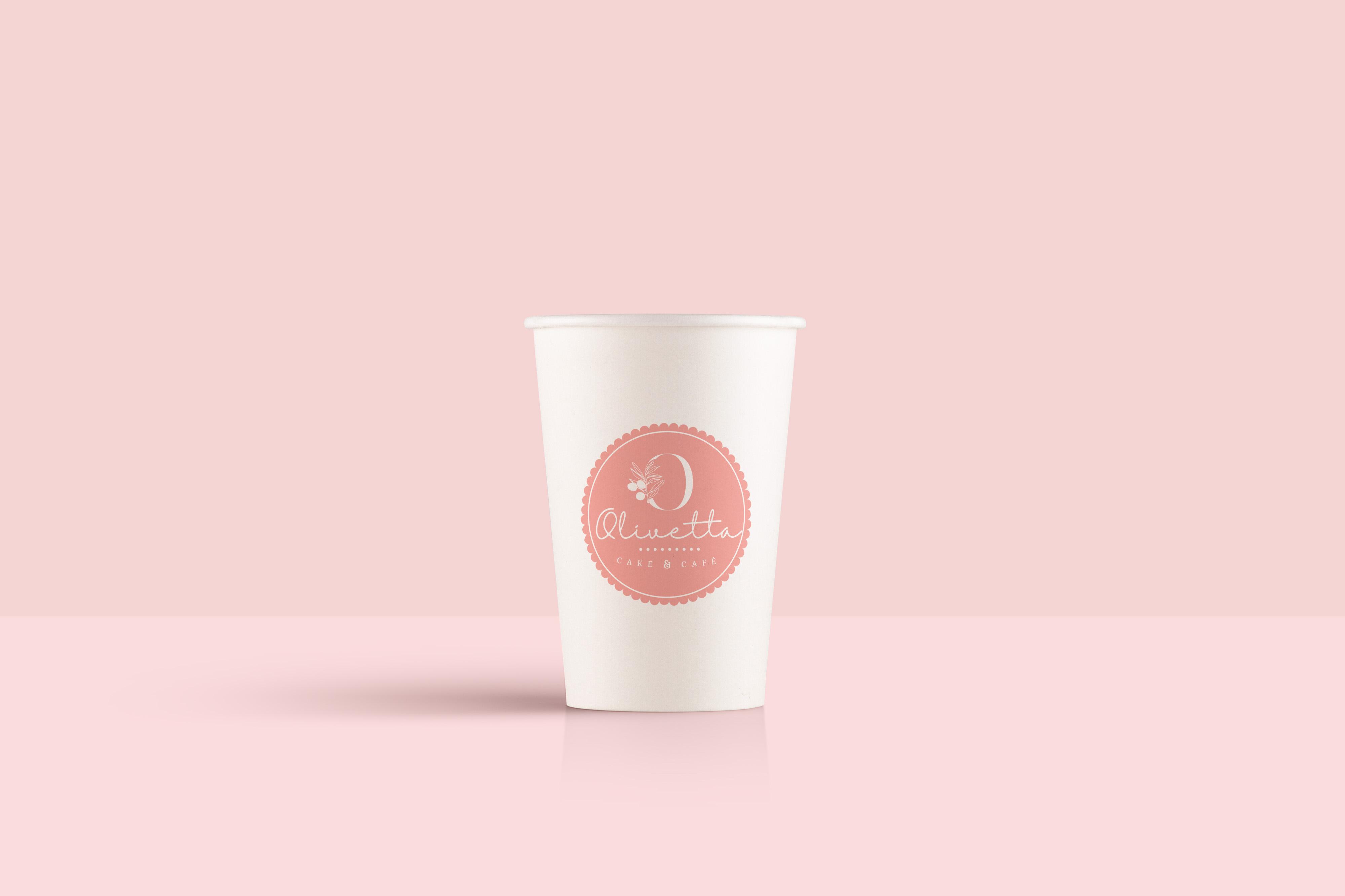 Vaso Olivetta rosado