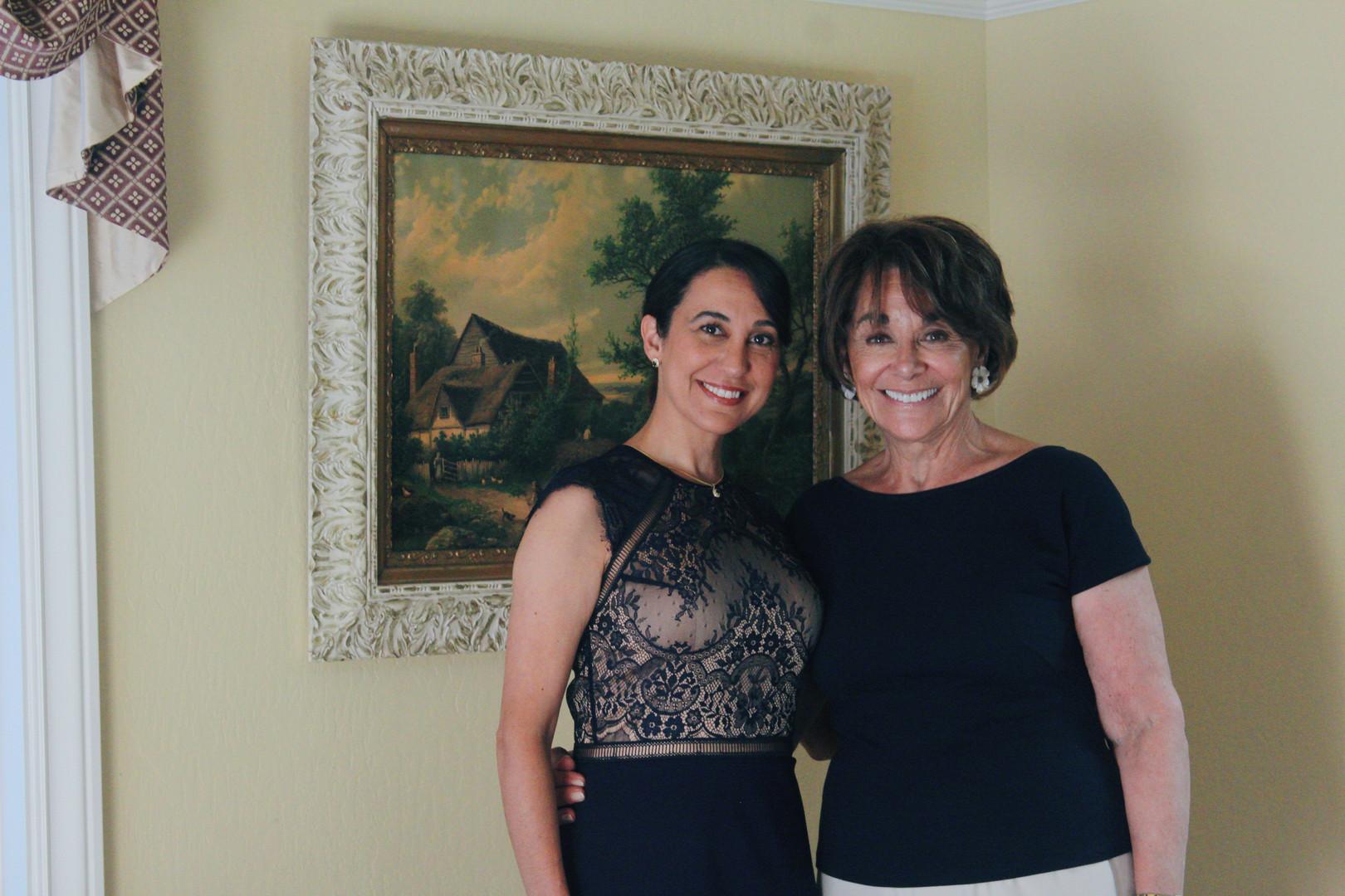 Renee with Congresswoman Anna Eshoo