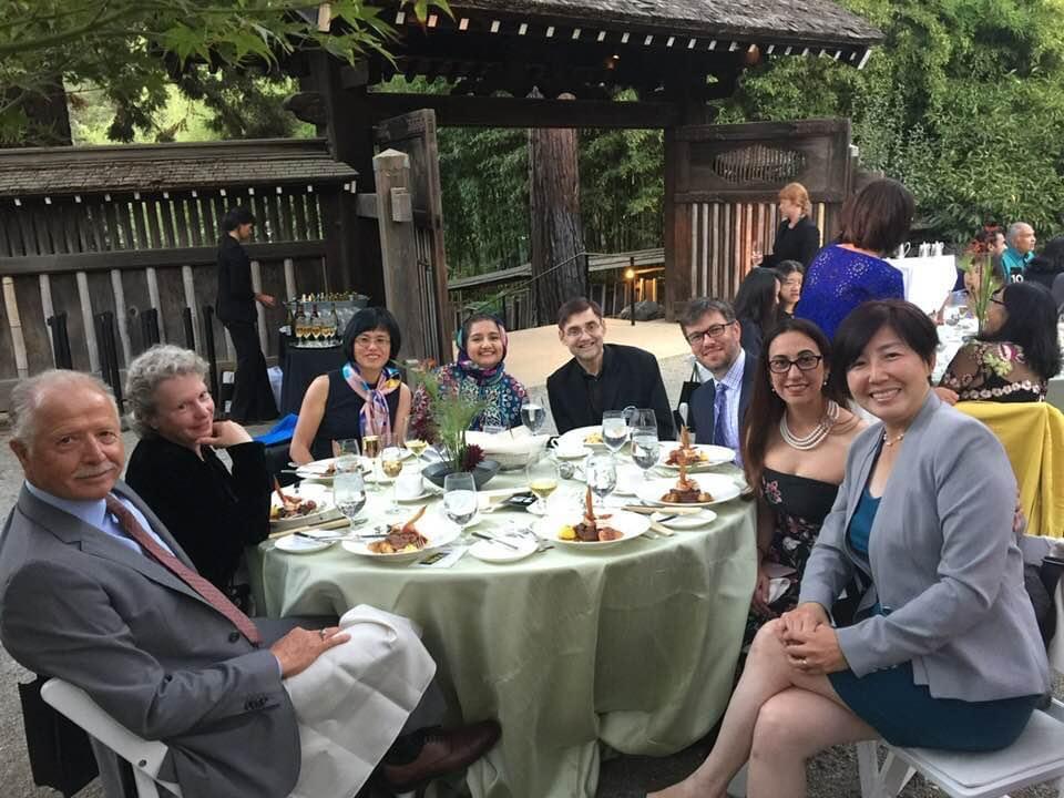 Renee at Hakone Gardens with Saratoga Un