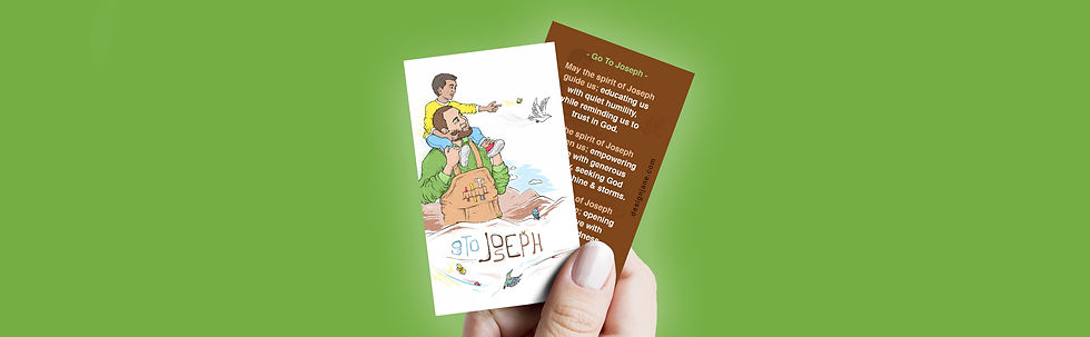 Go to Joseph - Prayer Card 1 - wide