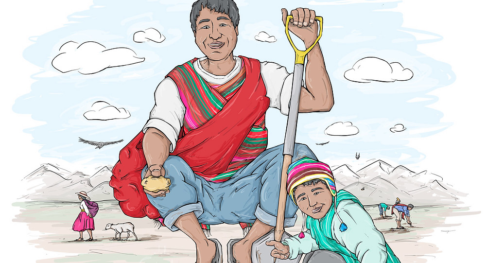 Ir Con Jose - Crop. Re-imagining Saint Joseph in Peru today.