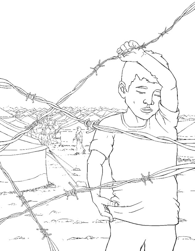 The Waiting Place - Time-Lapse Illustrat