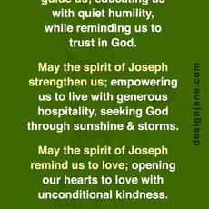 Go to Joseph - Prayer Card