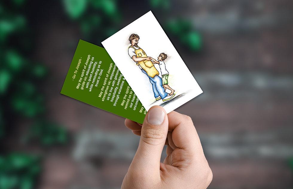 Go to Joseph - Prayer Card 4