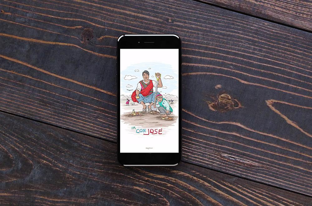Ir Con Jose - Free Wallpaper download