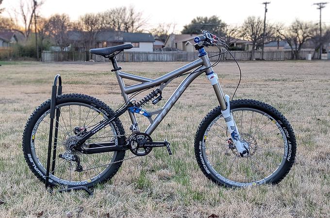 Titus El Guapo Titanium Full Suspension Mountain Bike, Large
