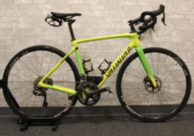 Used Specialized Roubaix Di2 2018 54 cm