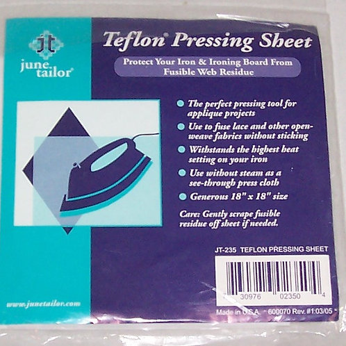 "June Tailor Teflon Pressing Sheets Two 18""X18"" Size JT-235"