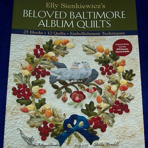 Beloved Baltimore Album Quilts Elly Sienkiewicz Book