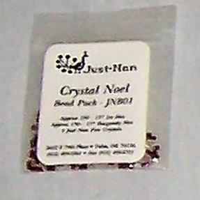 Just-Nan Crystal Noel Bead Pack JNB01 Embellishments for Cross Stitch Pattern