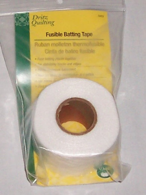 """Dritz Quilting Fusible Batting Tape 1-1/2"""" X 10 Yards"""