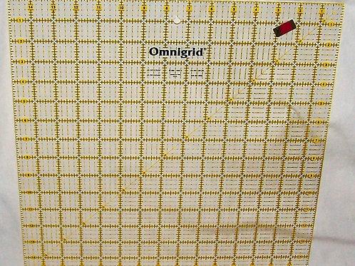 Omnigrid Non-Slip Ruler 15 Inches Square