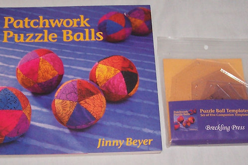 Patchwork Puzzle Balls Book With Templates Jinny Beyer