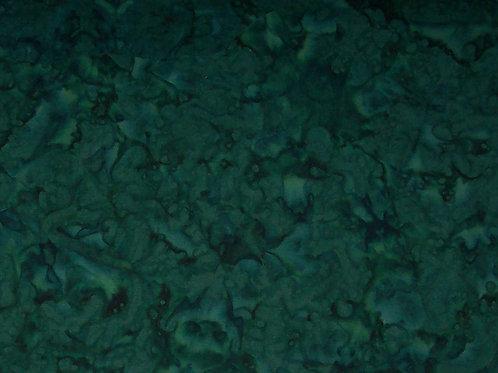 Batik Mottled Hoffman Forest Green Fabric