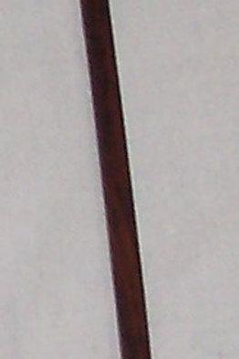 """Wood Crochet Hook Walnut Size I (5.50mm) 7"""""""