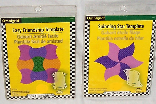 Omnigrid Easy Friendship and Spinning Star Templates