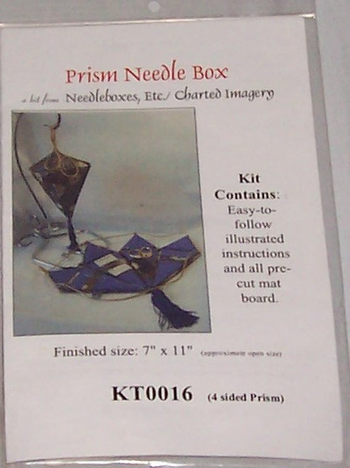 "Needlebox Kits Prism Needle Box Finished Size 7""X11"" Pre-Cut Mat Board"