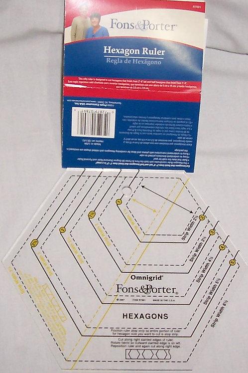 Fons & Porter Hexagons Omnigrid