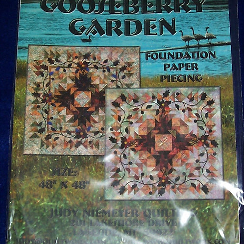 "Gooseberry Garden Judy Niemeyer Pattern 48""X48"""