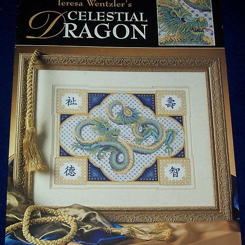Cross Stitch Pattern Teresa Wentzler Celestial Dragon Stitch Chart
