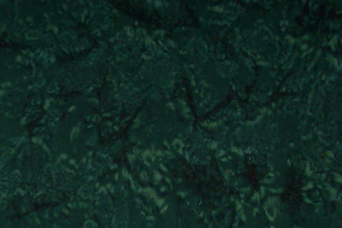Batik Dark Green 1 Yard Fabric