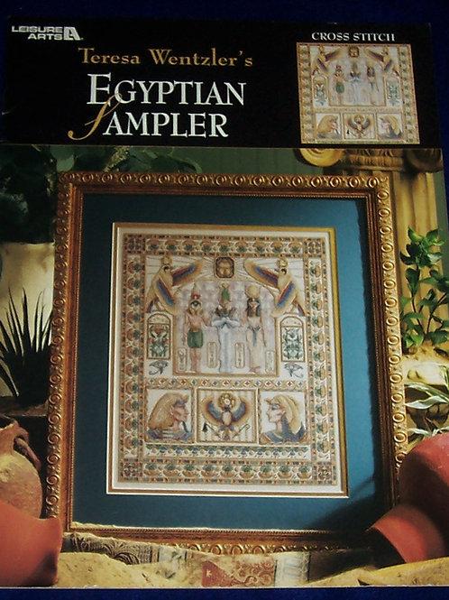 Cross Stitch Pattern Teresa Wentzler Egyptian Sampler Stitch Chart
