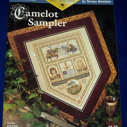 Cross Stitch Pattern Teresa Wentzler Camelot Sampler Stitch Chart