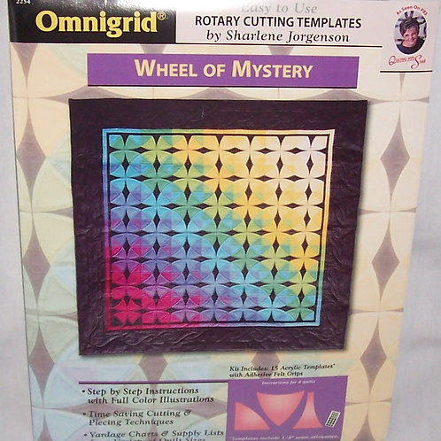 Wheel of Mystery Rotary Cutting Templates Sharlene Jorgenson w/Instructions