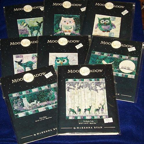 Moon Shadow McKenna Ryan Pattern Set Blocks 1-8
