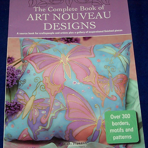 The Complete Book of Art Nouveau Designs Search Press