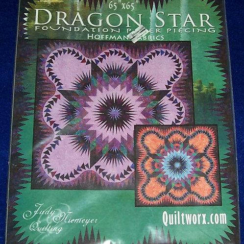"Dragon Star Judy Niemeyer Pattern 65""X65"""