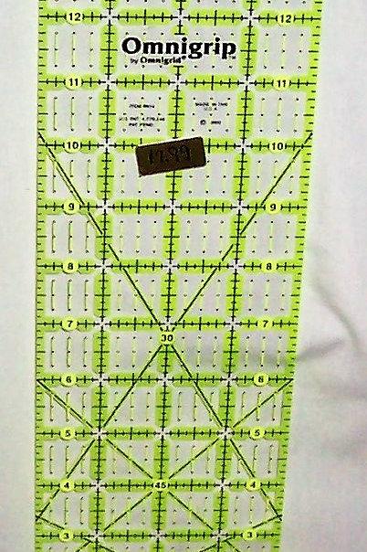 """Omnigrid Non-Slip Ruler 4"""" X 14"""""""
