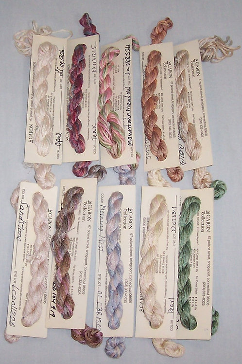 10 Waterlilies by Caron 12 Ply 6 Yds Italy Needlepoint Cross Stitch