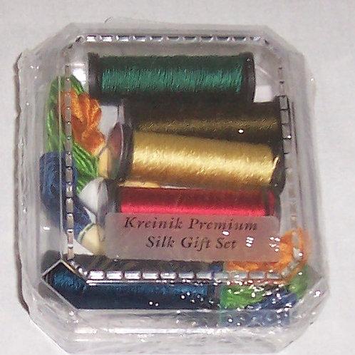 Kreinik The Premium Silk Gift Set 100% Pure Silk Threads Embroidery Cross Stitch