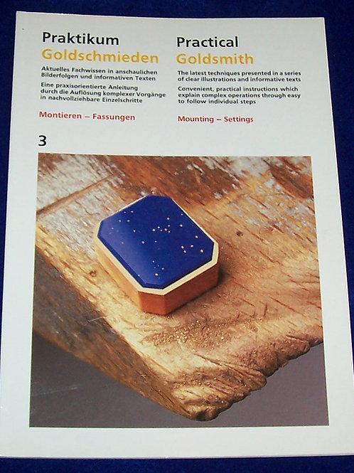 Practical Goldsmith 3 Mounting-Settings Book Ruhle-Diebener-Verlag