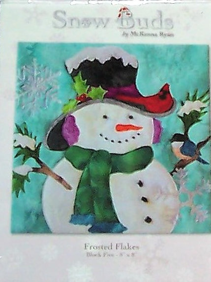 "Frosted Flakes Snow Buds McKenna Ryan Pattern Block 5 ~ 8""X8"""