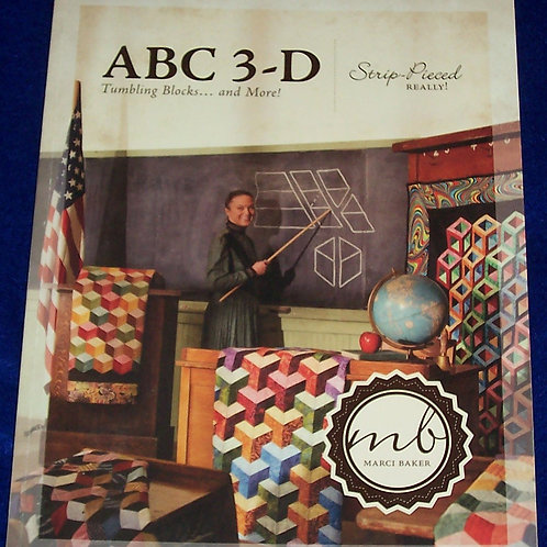 ABC 3-D Tumbling Blocks... and More! Marci Baker Signed by the Author