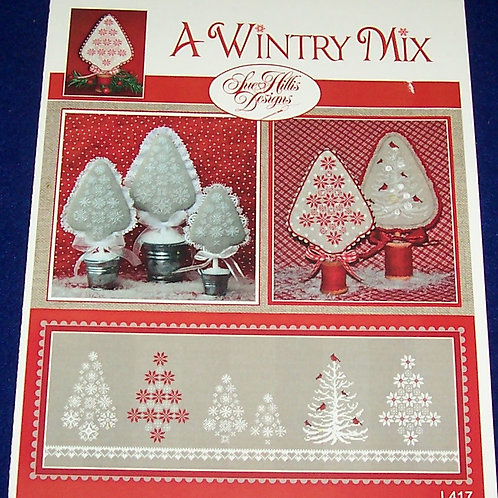 Cross Stitch Pattern Sue Hillis Designs A Wintry Mix