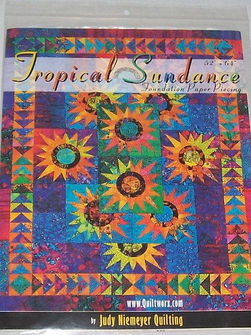 "Tropical Sundance Judy Niemeyer Pattern 52""X64"""