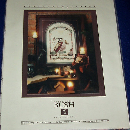 Cross Stitch Pattern Kit The Toy Gatherer Shepherd's Bush