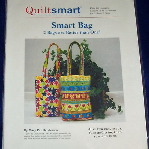 Smart Bag Mary Pat Henderson Includes Quiltsmart Interfacing