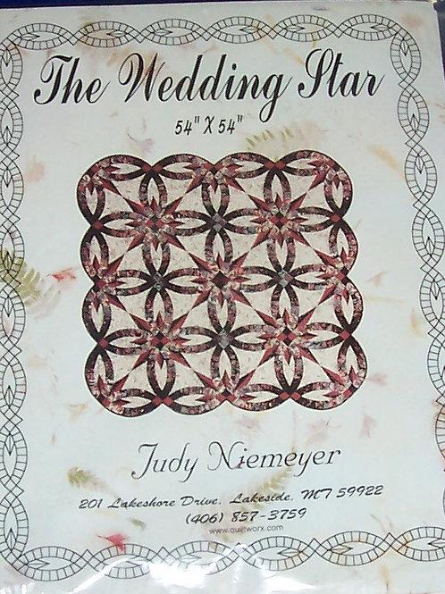 "The Wedding Star Judy Niemeyer Pattern 54""X54"""