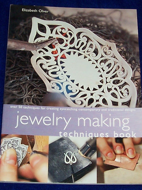 Jewelry Making Techniques Book Elizabeth Olver