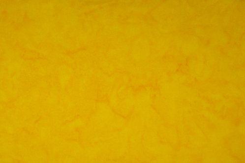 Batik Fabric Marigold Yellow