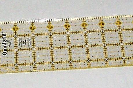 """Omnigrid Non-Slip Ruler 3-1/2"""" X 24"""""""