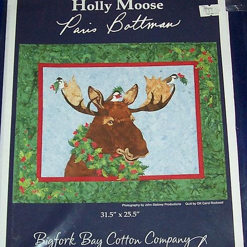 """Holly Moose Paris Bottman Pattern 31.5""""X25.5"""" Bigfork Bay Cotton Company"""
