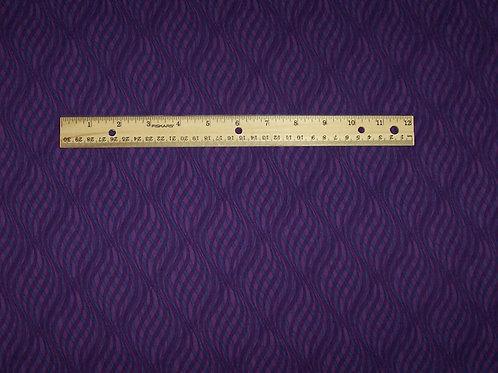 P&B Textiles Skywriting Purple Fabric Geometric Kaleidoscope